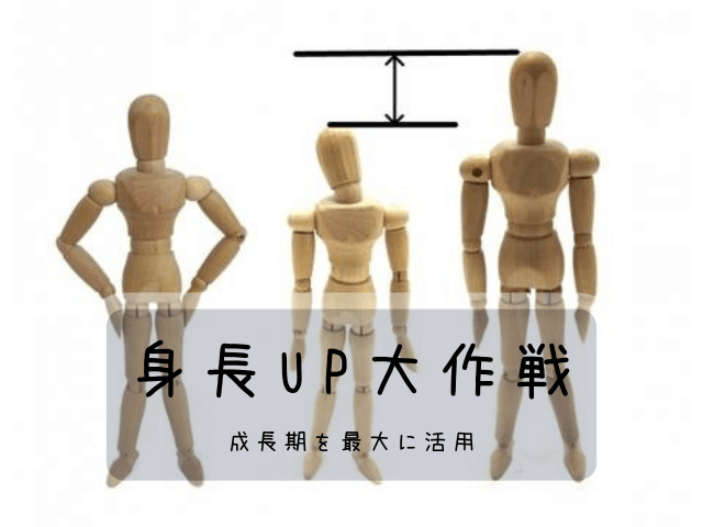 色々な大きさの木の人形と文字