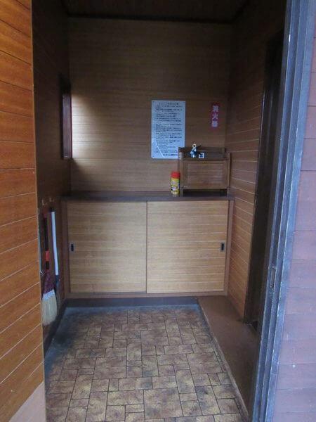 ケビンの玄関部分