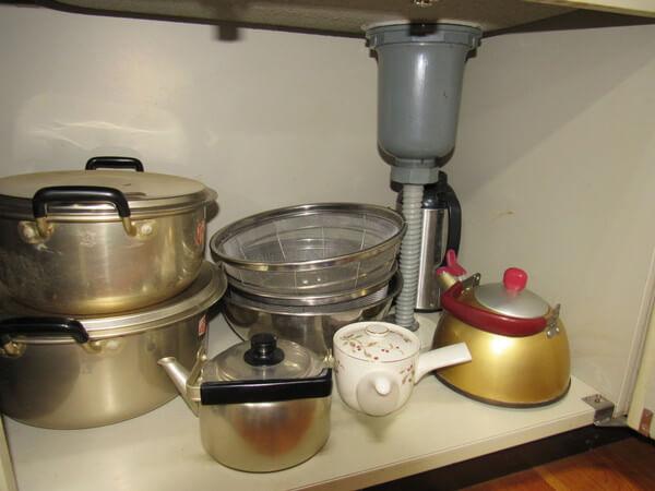 立山山麓家族旅行村調理器具