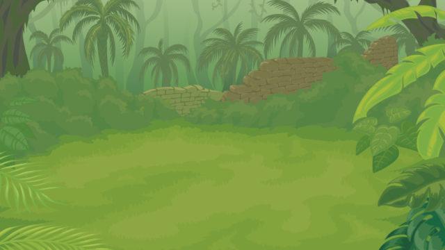 ジャングルのイラスト