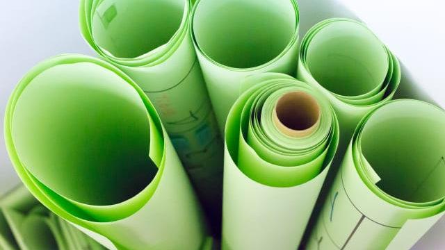 緑の模造紙