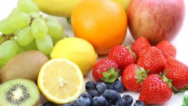 数種類のフルーツ
