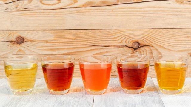 5種類のお茶