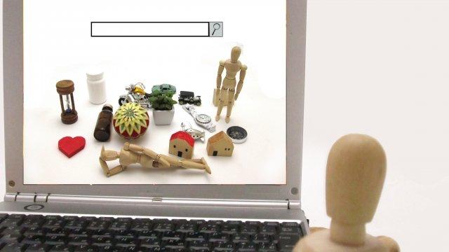 ネットショッピングの画像
